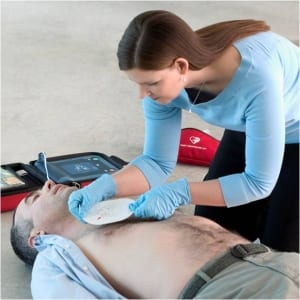 Defibrillator training Northern Ireland